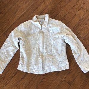 Cold water creek cream jacket
